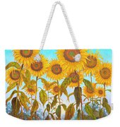 Ovation Sunflowers Weekender Tote Bag