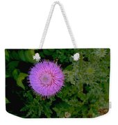 Over A Thistle Weekender Tote Bag