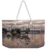 Over Her Banks Weekender Tote Bag