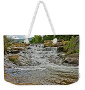Over Natures Dam Weekender Tote Bag