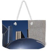 Over The Bean Weekender Tote Bag