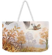 Over The Fen Weekender Tote Bag
