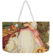 Over The Garden Wall Weekender Tote Bag by Frederick Morgan