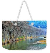 over the Guadalupe Weekender Tote Bag