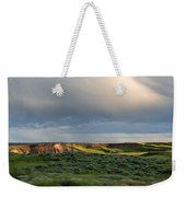 Over The Land Weekender Tote Bag