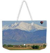 Over The Mountains Weekender Tote Bag
