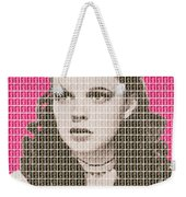 Over The Rainbow Pink Weekender Tote Bag