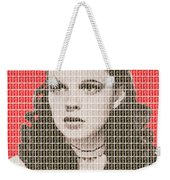 Over The Rainbow Red Weekender Tote Bag