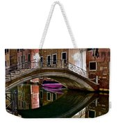 Over The River And Through The Buildings Weekender Tote Bag