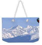 Over The Rockies Weekender Tote Bag