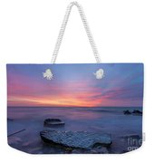Over The Rocks Weekender Tote Bag