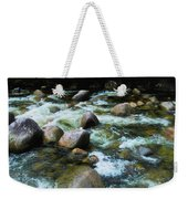 Over The Boulders - Mossman Gorge, Far North Queensland, Australia Weekender Tote Bag
