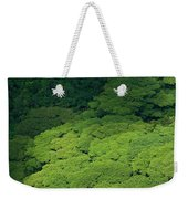 Over The Treetops Weekender Tote Bag