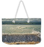 Over The Wall Weekender Tote Bag