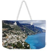Overall View Of Part Of The Amalfi Coast In Italy Weekender Tote Bag