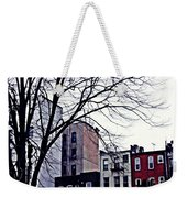 Overcast And Cold Weekender Tote Bag