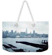 Overcast City Weekender Tote Bag