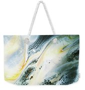 Overcast Sea Abstract Weekender Tote Bag