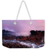 Overcome By The Tides Weekender Tote Bag