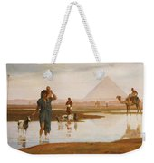 Overflow Of The Nile Weekender Tote Bag by Frederick Goodall