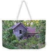 Overgrown Abandoned 1800 Farm House Weekender Tote Bag