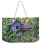 Overgrown Abandoned 1800 Farm House Weekender Tote Bag