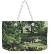 Overgrown Pond Weekender Tote Bag