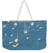 Overlooking A Miami Marina Weekender Tote Bag