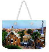 Overlooking Barcelona From Park Guell Weekender Tote Bag