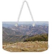 Overlooking Santa Paula Canyon Weekender Tote Bag