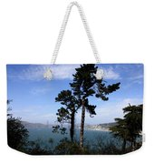 Overlooking The Bay Weekender Tote Bag
