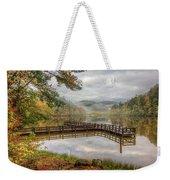 Overlooking The Beauty Of The Lake Weekender Tote Bag