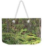 Overlooking The Rainforest Weekender Tote Bag