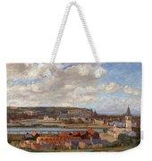 Overlooking The Town Of Dieppe Weekender Tote Bag