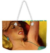 Overnight Blonde Weekender Tote Bag