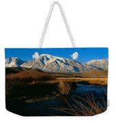 Owens River Valley Bishop Ca Weekender Tote Bag