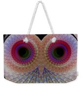 Owl Abstract Weekender Tote Bag