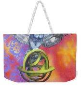 Owl And Star Map Weekender Tote Bag