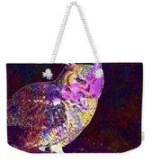 Owl Bird White Raptor  Weekender Tote Bag