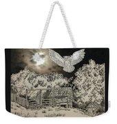 Owl In The Moonlight On Brush Mountain Weekender Tote Bag