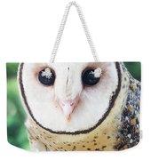 Owl Insight Weekender Tote Bag