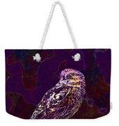 Owl Little Owl Bird Animal  Weekender Tote Bag