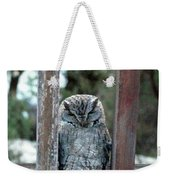 Owl On Deck Weekender Tote Bag