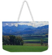 Owl Pass Uncompahgre National Forest Co Weekender Tote Bag