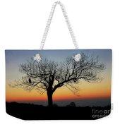 Owl Sunset Weekender Tote Bag