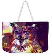 Owl The Female Eagle Owl Bird  Weekender Tote Bag