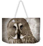 Owls Eyes -vintage Series Weekender Tote Bag