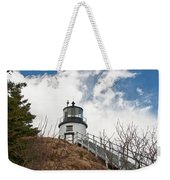 Owl's Head Lighthouse 4761 Weekender Tote Bag