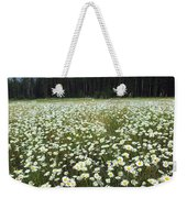 Ox-eyed Daisies And Cascade Mountain Weekender Tote Bag