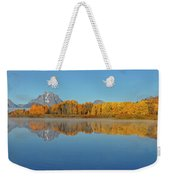 Oxbow Bend First Light  Weekender Tote Bag